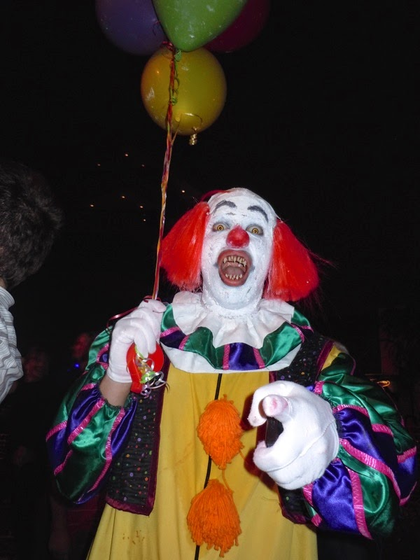 West Hollywood Halloween Stephen King IT Clown costume