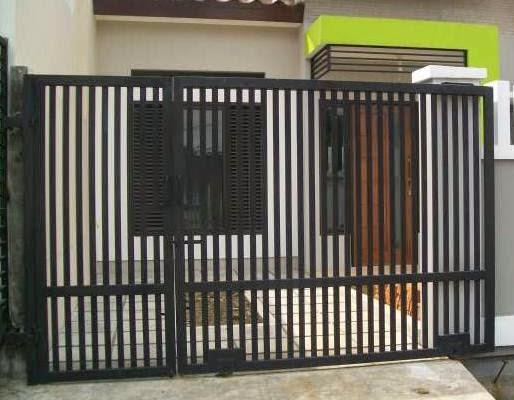 tinggi pagar yang ideal untuk rumah desain denah rumah
