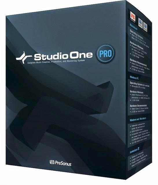 PreSonus Studio One Pro 2.6.5.30360 incl Crack