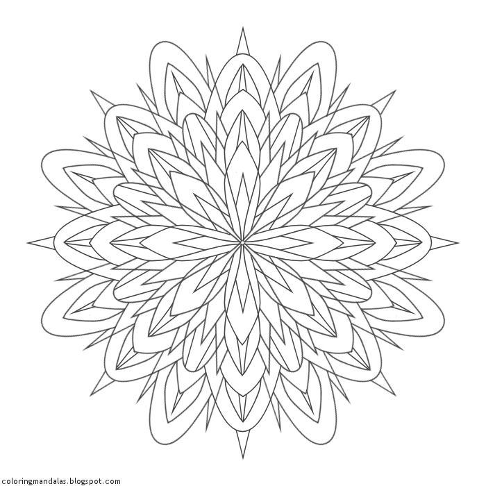 Coloring Mandalas 31 Mysticism