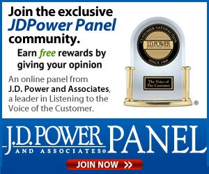 Earn Rewards from the J.D. Power and Associates Survey Panel