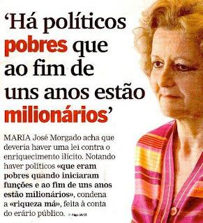 políticos enriquecem ilicitamente