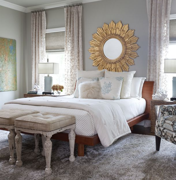 Simplistic Grey Master Bedroom: Life On Virginia Street