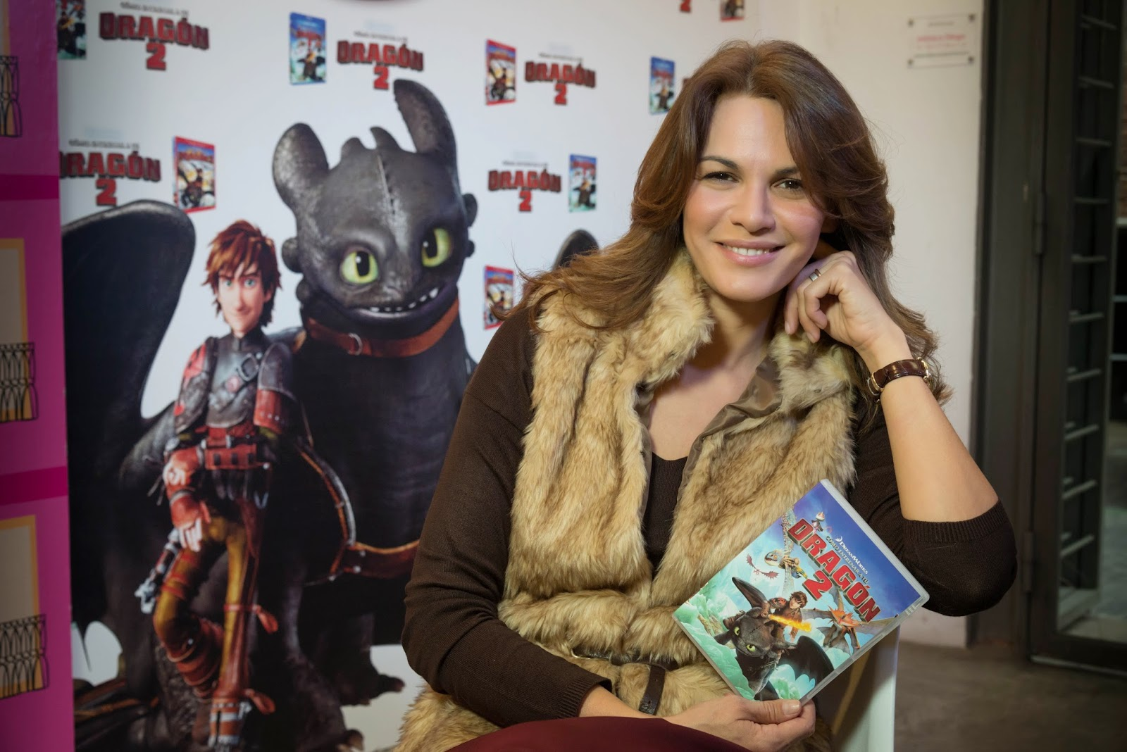 #DragonesEnMadrid presentación DVD Cómo entrenar a su dragon II blog infantil mama de noa