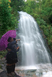 Charming Love Waterfall in Sa Pa