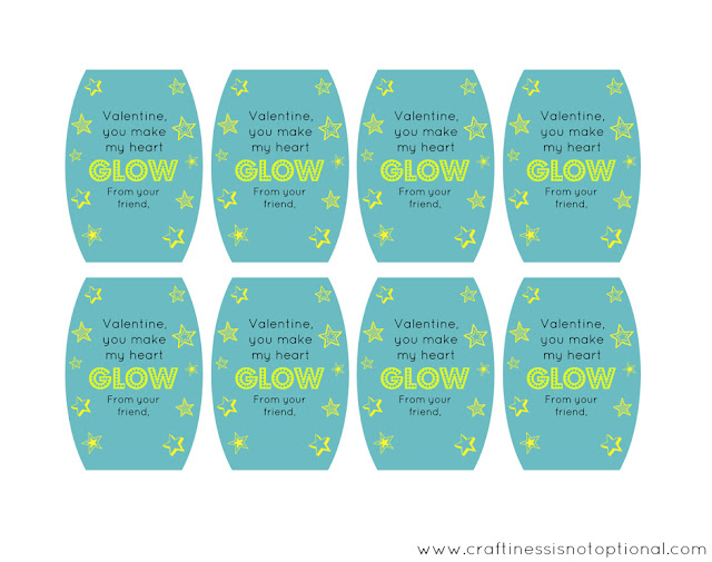 glowstick valentines and more!