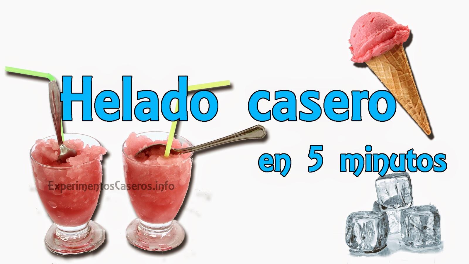 Cómo hacer un helado casero en 5 minutos, experimentos caseros, helado casero, inventos, helado y sal, hielo y sal, experimento hielo y sal, experimentos, experimento, invento, inventos, inventos caseros, inventos sencillos, experimentos sencillos, experimentos para niños, inventos para niños, helado, helado en casa
