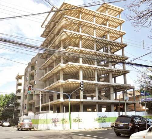 Construcciones en La Paz