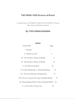 The Hindu-Yogi Science of Breath by Yogi Ramacharaka Mediafire ebook