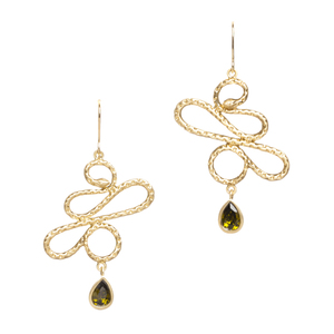 jewelry blog snake drop earrings