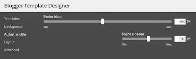 Blogger template designer adjust width