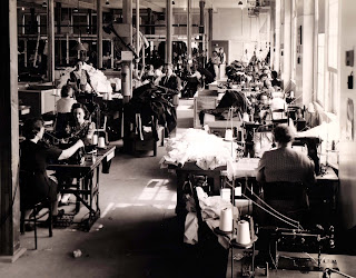 Sampson Naval Base Tailor Shop, WWII
