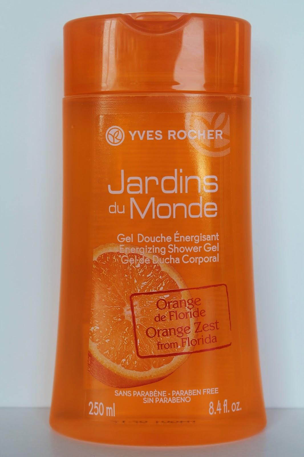Gel douche Orange de Floride Yves Rocher