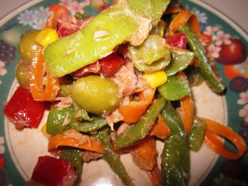 Bienmesabe ensalada de judias verdes - Como preparar las judias verdes ...