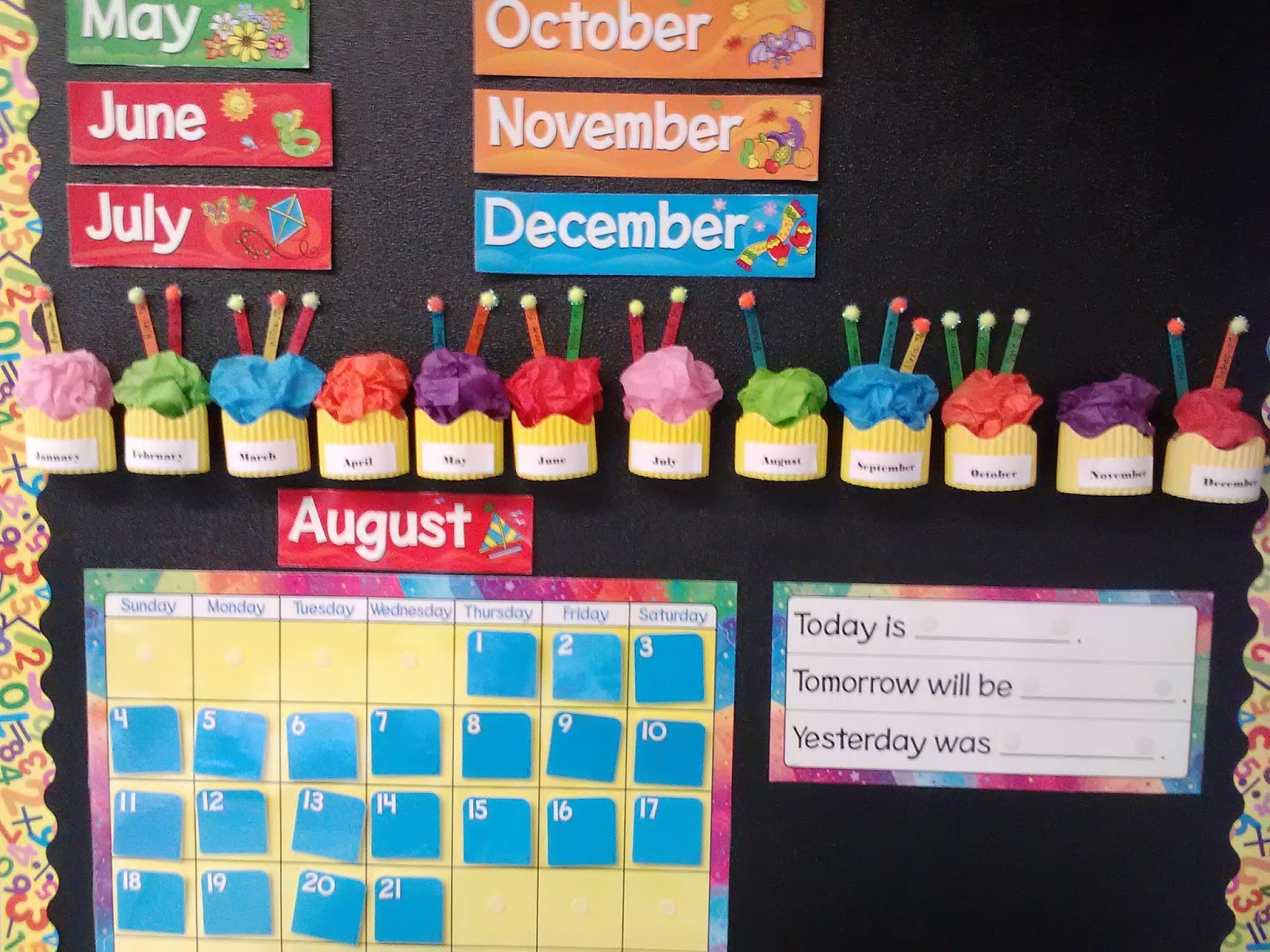 Classroom Decoration Pictures ~ Teaching little miracles monday made it birthday