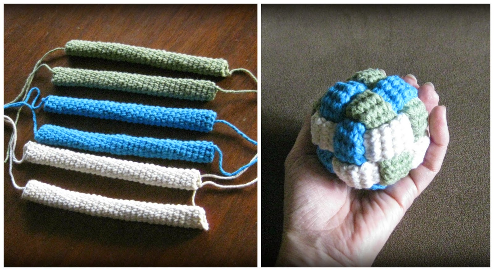 crochet braided ball
