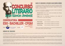 IV Concurso Literario Juan Ramón Jiménez