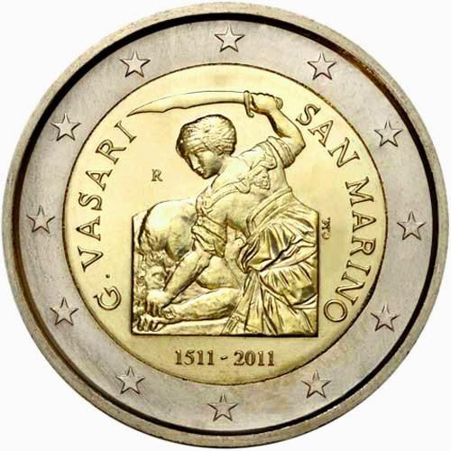2 euro San Marino 2011 Giorgio Vasari