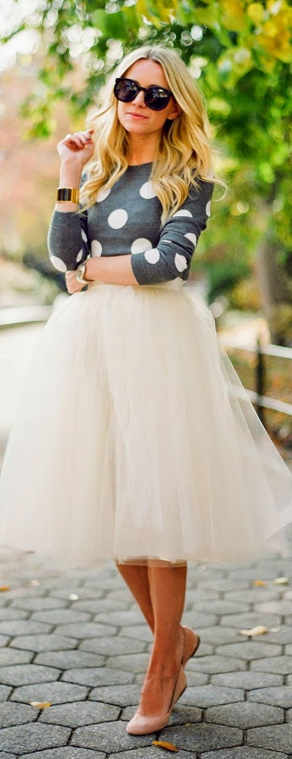 Need an occasion where I can wear a tulle skirt like this.