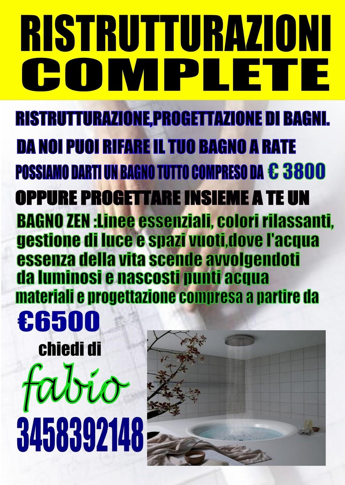Fl edilizia srl ristrutturazioni economiche volantino ristrutturazione bagno - Ristrutturazione edilizia bagno ...