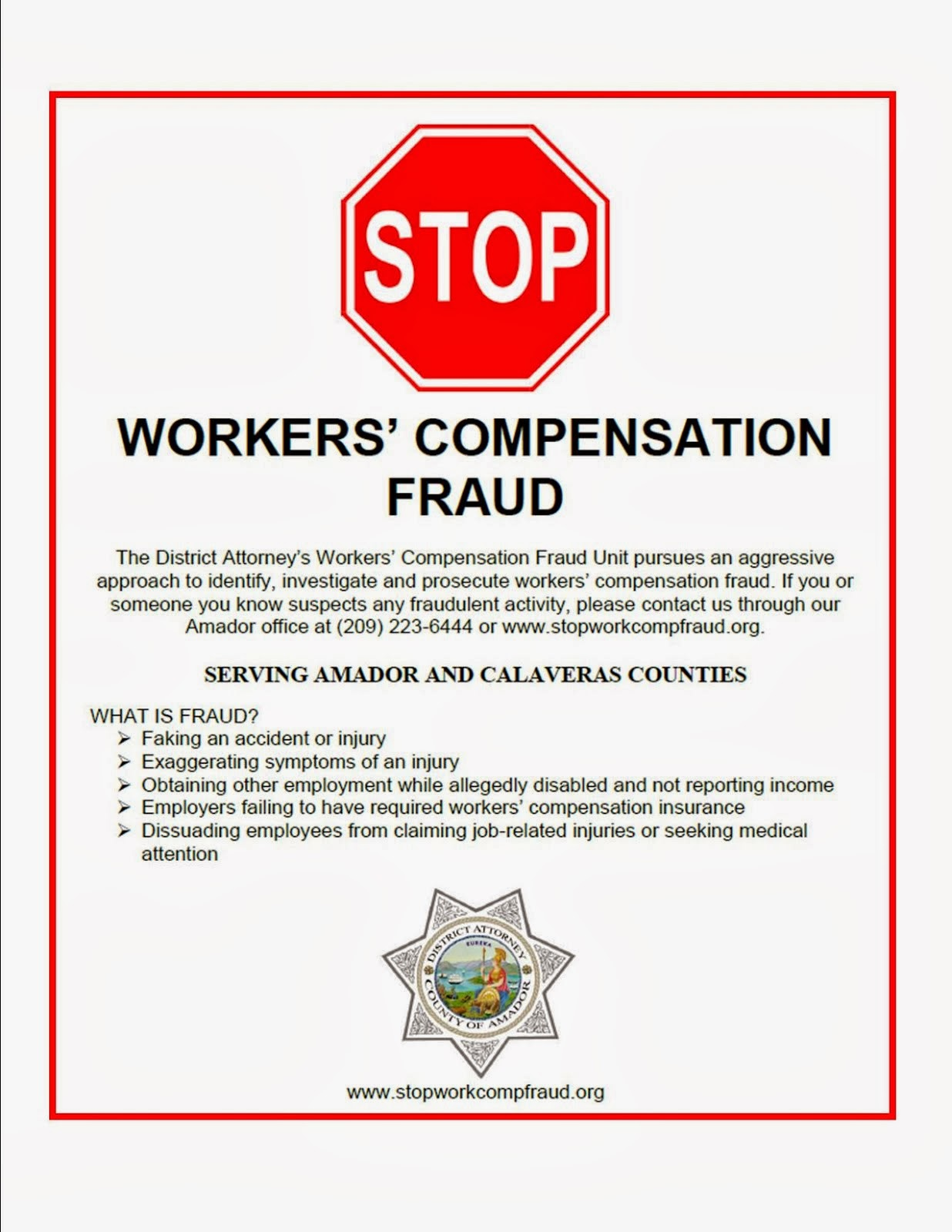 STOP Workers' Compensation Fraud