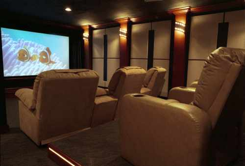 Home theater furniture home designs - Home theater furniture ideas ...