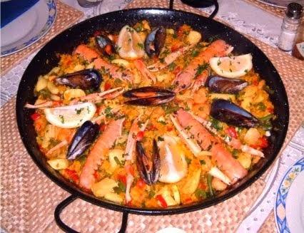 Paella CUNTIS de Galicia
