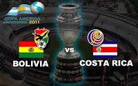 Resultado: Bolivia vs Costa Rica (7 de Julio 2011)
