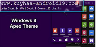 WINDOWS 8 APEX THEME APK FOR ANDROID