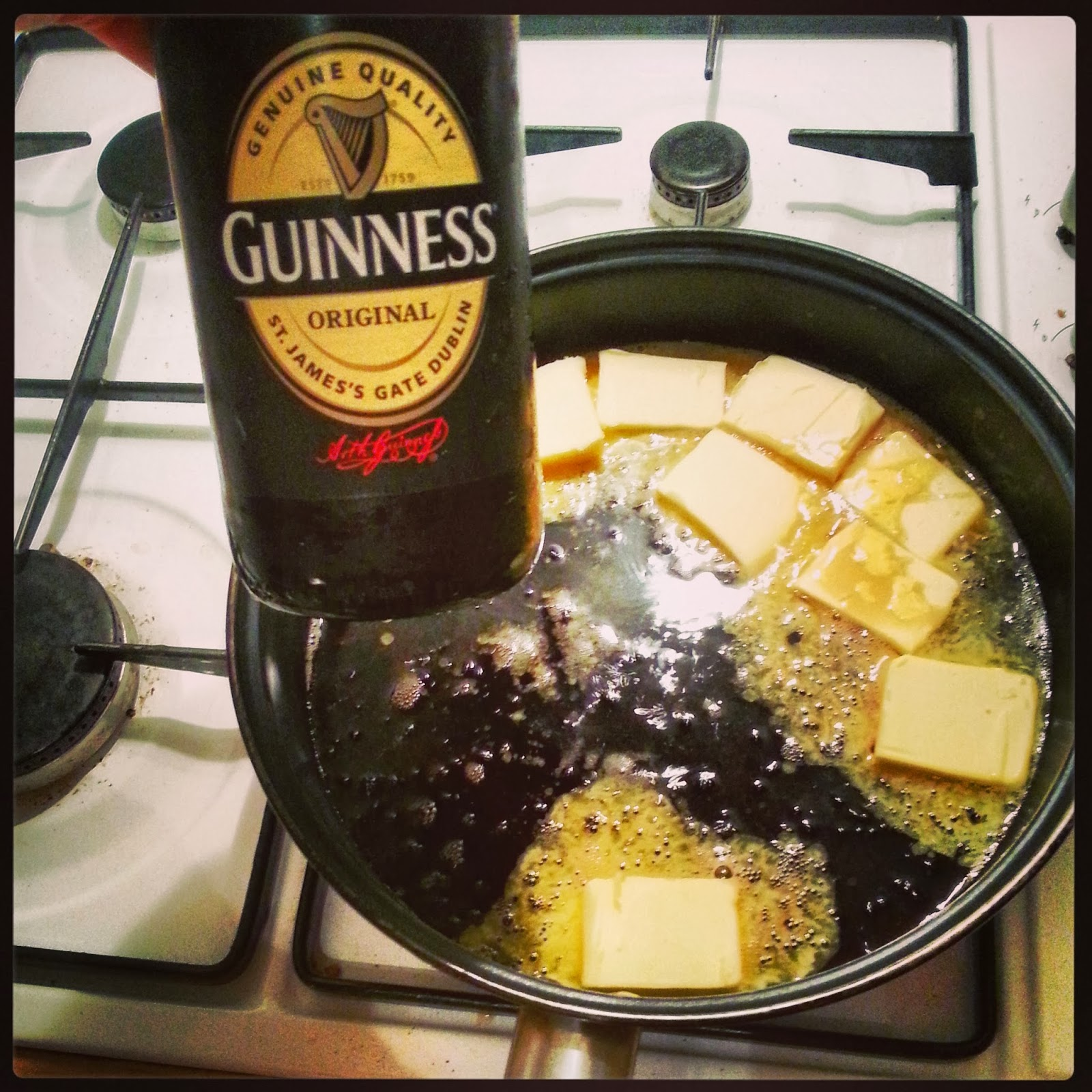Chocolate Guinness Goodness Recipe — Dishmaps