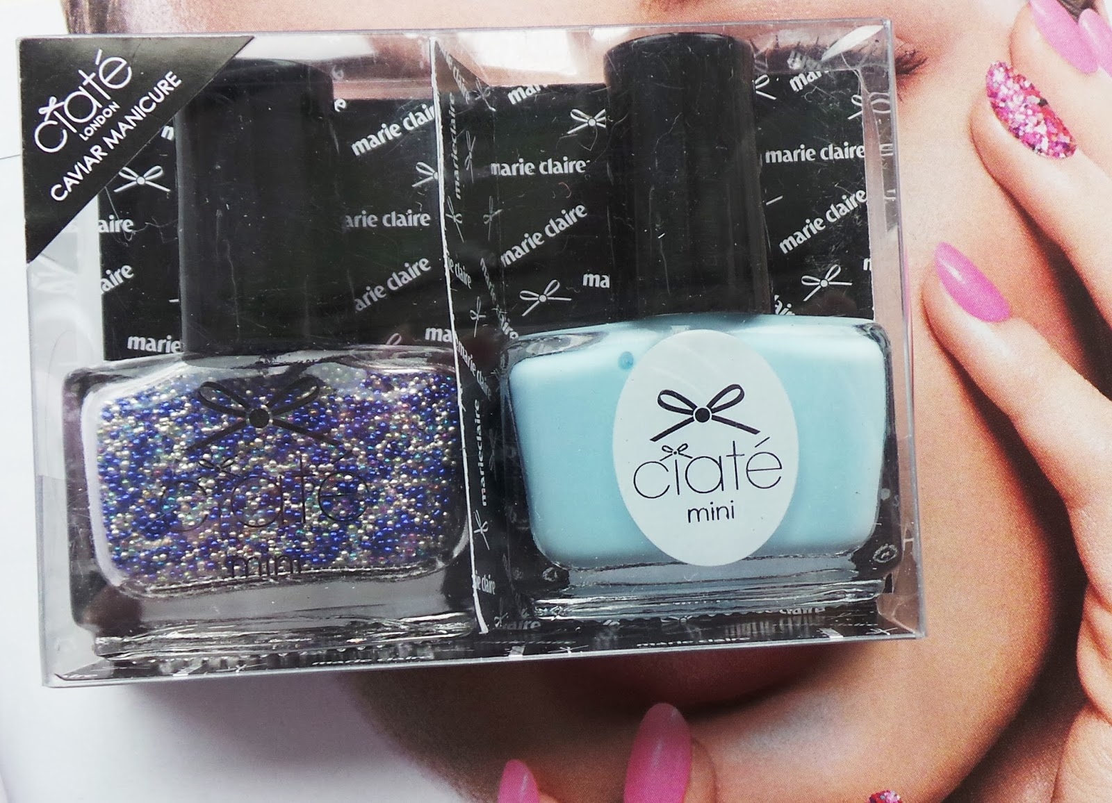 ciate ferris wheel swatch, ciate ferris wheel review, july magazine freebies 2014, marie claire magazine freebies july 2014, ciate caviar kit, ciate marie claire magazine freebies, caviar manicure review, ciate caviar, nail blog, nail blogger, nbloggers, uk nail blog, uk nail art blog, beauty blogger