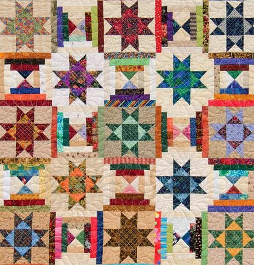 Art Threads Friday Inspiration Ohio Star Quilts