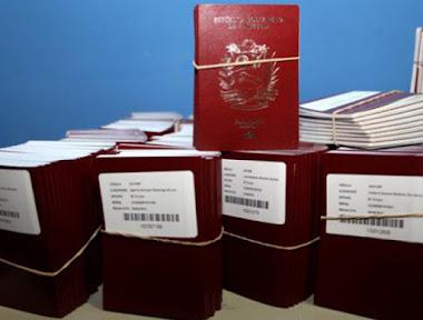 Miles de pasaportes recibirán sedes diplomáticas venezolanas en 6 países del mundo