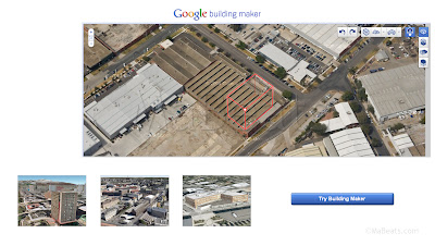 Building Maker from Google Earth