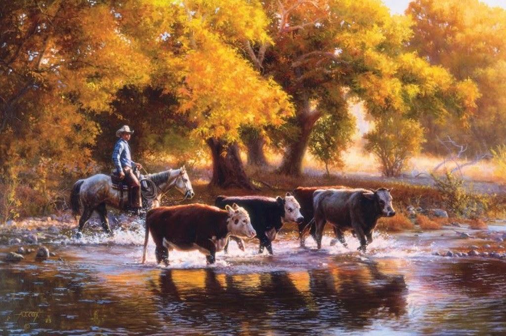 vaqueros-en-paisajes-del-oeste