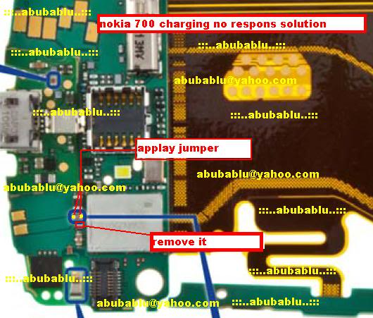 Nokia 700 Not Charging Problem Solution Jumper Ways