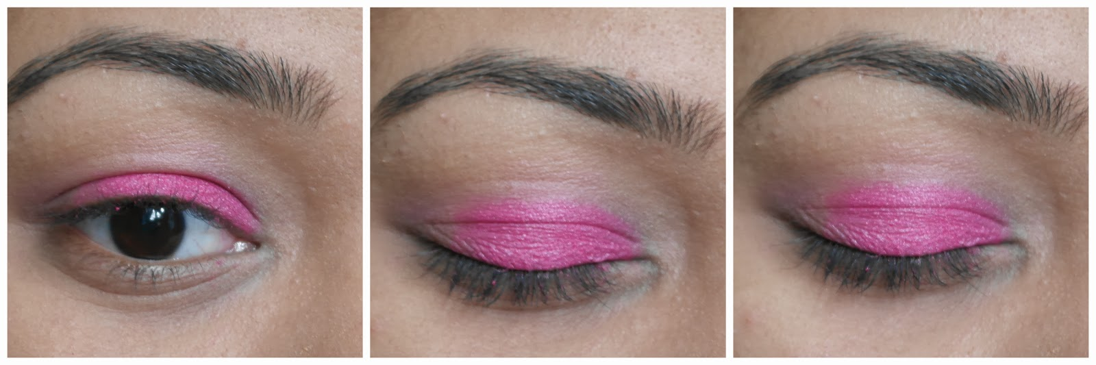 Pink Purple Eyeshadow- tutorial- eyemakeup