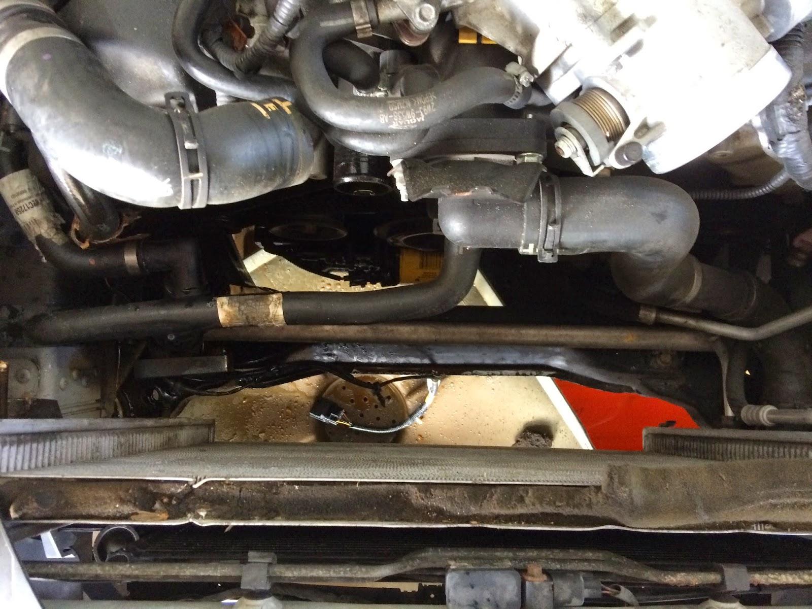 2006 Jaguar Xj Coolant Change