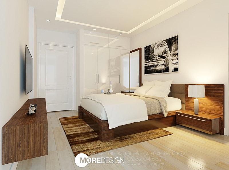 Nội thất căn hộ chung cư ICON56 - Nội thất phòng ngủ đẹp