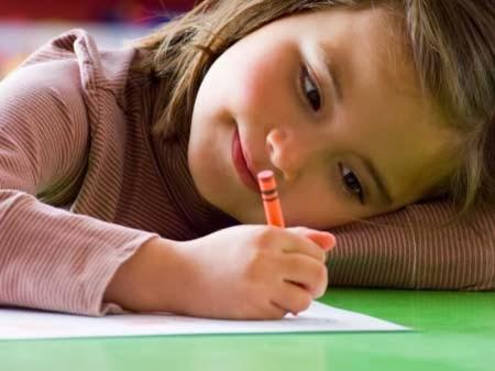 Cara belajar menulis pada anak usia prasekolah