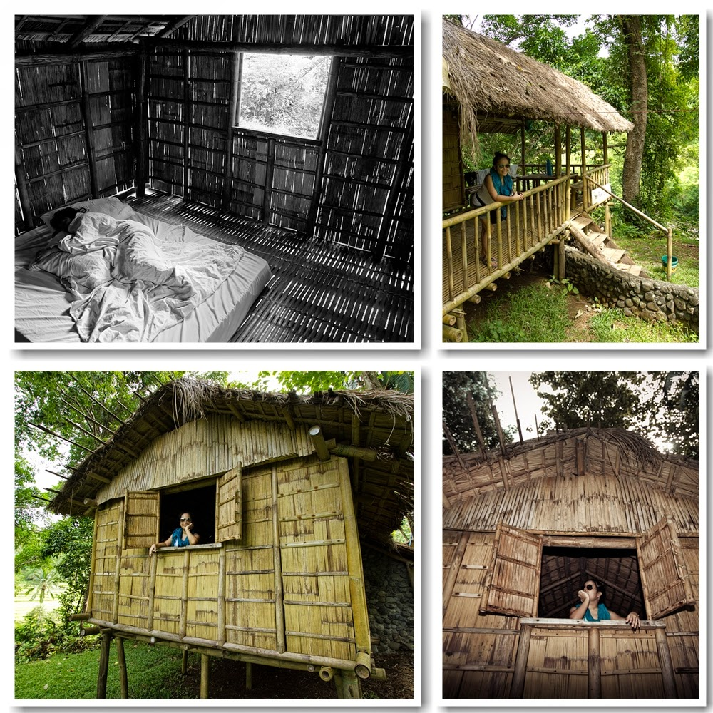 Nipa hut Kayak Inn