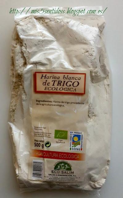 Harina de trigo ecológica