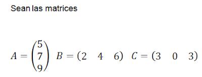 potencia de matrices