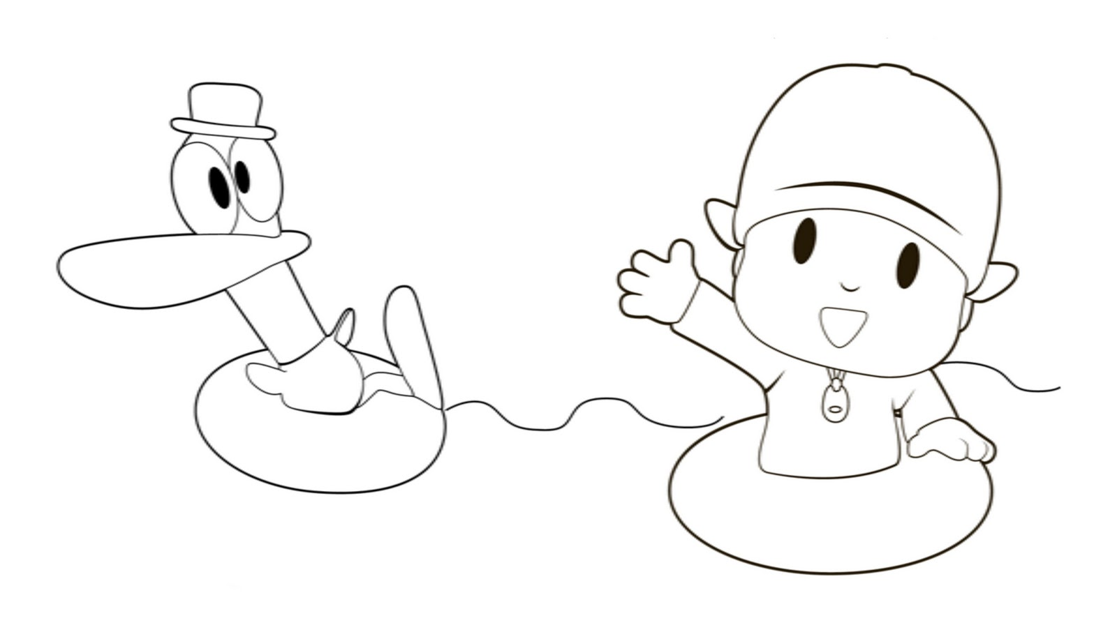 Pocoyo Coloring Pages Free Printable