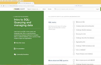 Best SQL Online Tutorial for Beginners