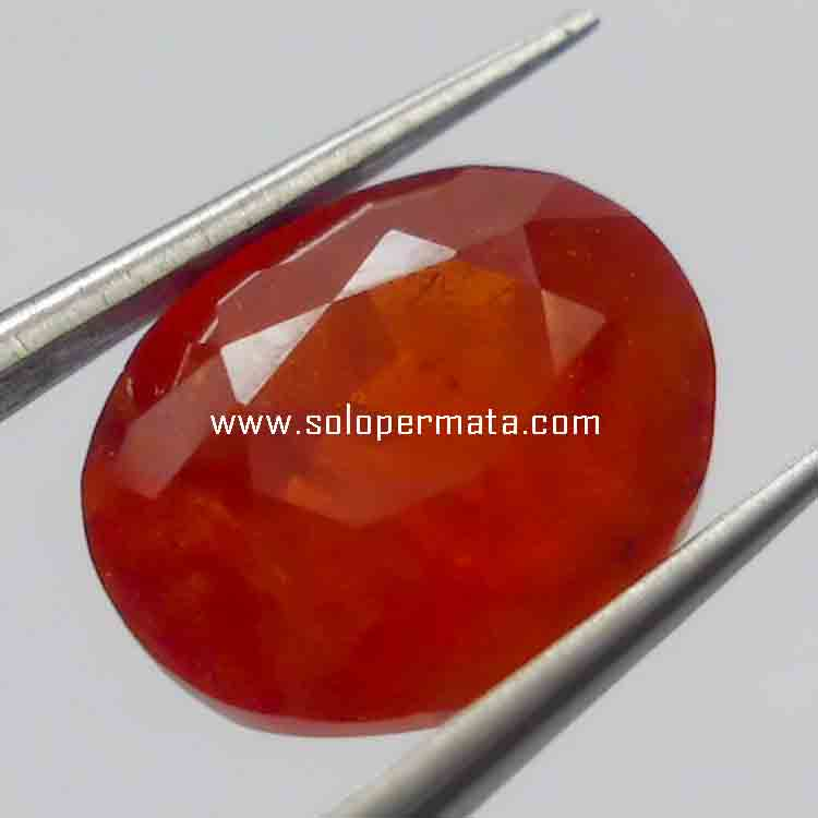 Batu Permata Natural Spessartite Garnet
