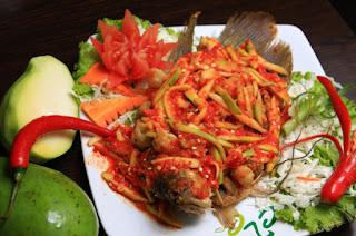 Resep Ikan Nila Goreng Saus Mangga