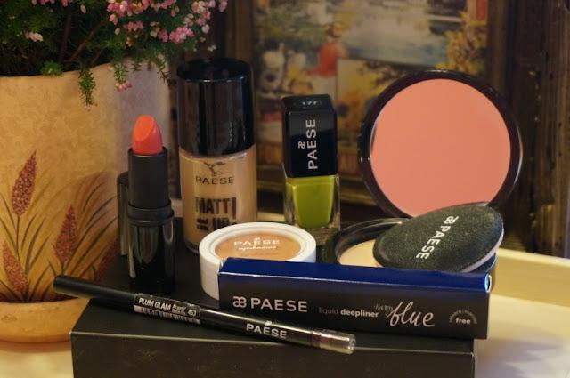 Kosmetyczny box Paese - czyli moja niemiła przygoda z marką