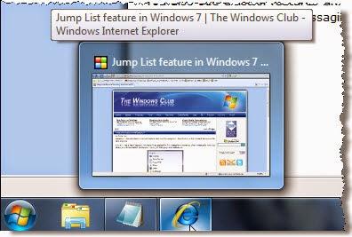 How to disable Taskbar Jump Lists in Windows 7