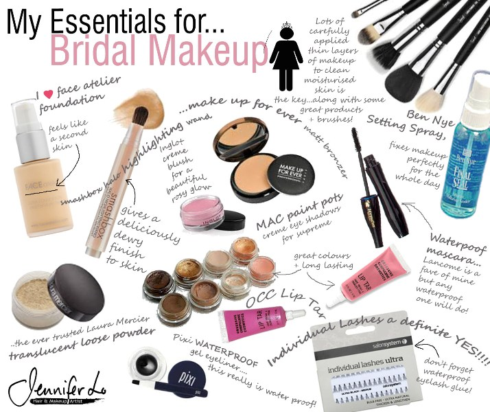 Wedding Makeup Essentials : Makeup by Jennifer Lo
